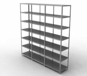 Metal arşiv raf sistemleri