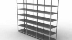 Çelik raf sistemi